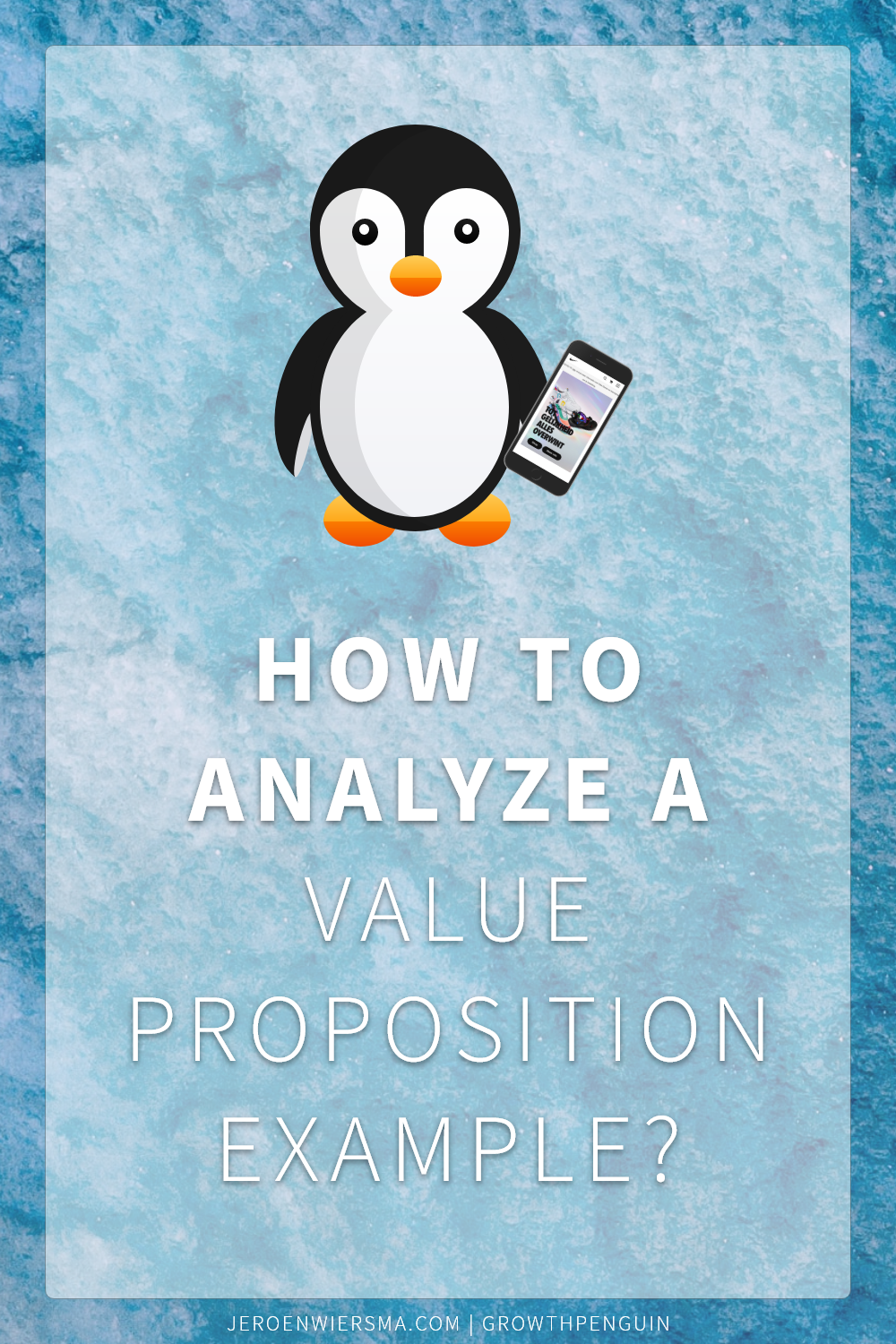 How to analyze a value proposition example