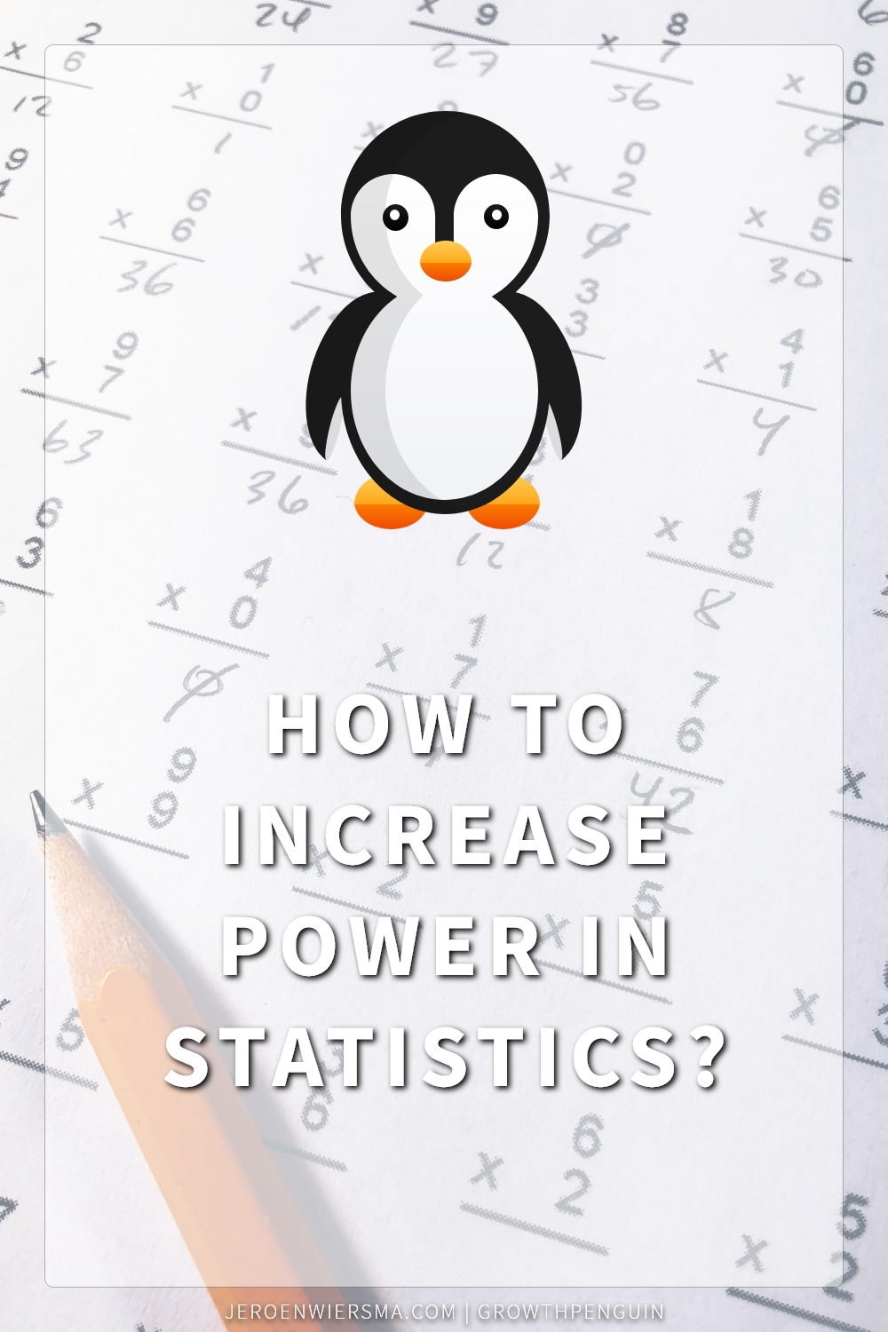 How to increase power in statistics