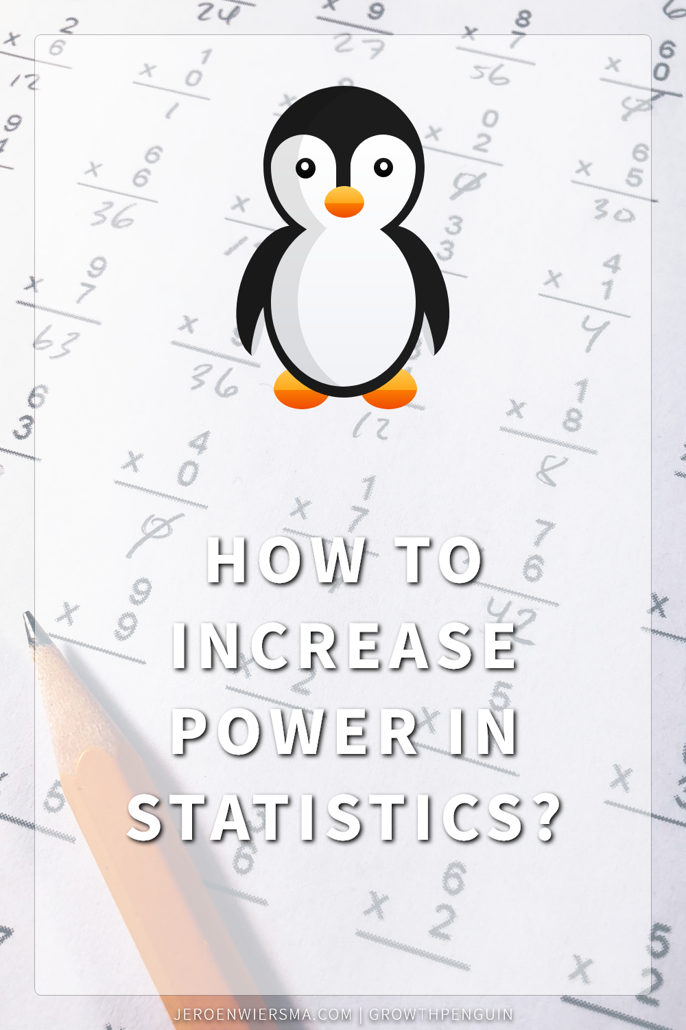 How to increase power in statistics?